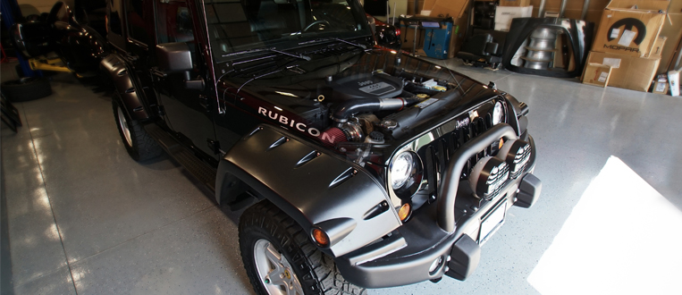 jeep customizing